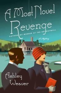 Cover of A Most Novel Revenge by Ashley Weaver