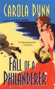 Cover of Fall of a Philanderer by Carola Dunn