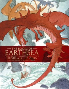 Cover of The Books of Earthsea by Ursula Le Guin and Charles Vess