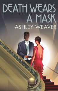 Cover of Death Wears a Mask by Ashley Weaver