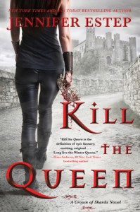Cover of Kill the Queen by Jennifer Estep