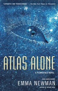 Cover of Atlas Alone by Emma Newman
