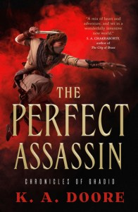 Cover of The Perfect Assassin by K.A. Doore