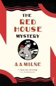 Cover of The Red House Mystery by A.A. Milne