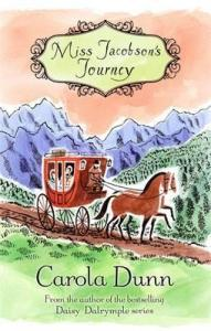 Cover of Miss Jacobson's Journey by Carola Dunn