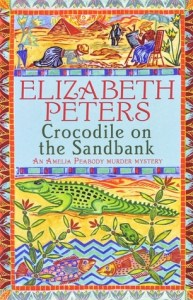 Cover of Crocodile on the Sandbank by Elizabeth Peters