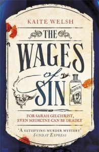 Cover of The Wages of Sin by Kaite Welsh