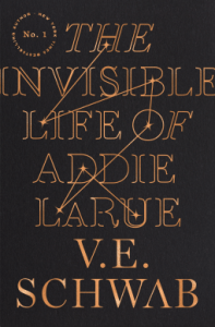 Cover of The Invisible Life of Addie LaRue by V.E. Schwab