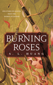 Cover of Burning Roses by S.L. Huang