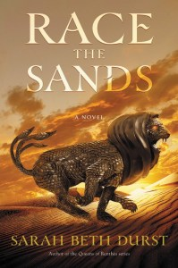 Cover of Race the Sands by Sarah Beth Durst