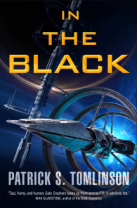 Cover of In the Black by Patrick S. Tomlinson
