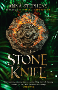 Cover of The Stone Knife by Anna Stephens