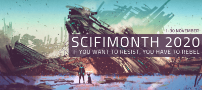 SciFiMonth 2020 banner