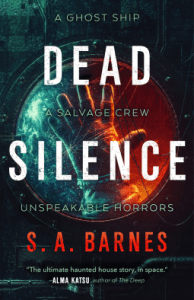 Cover of Dead Silence by S.A. Barnes