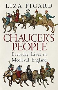 Cover of Chaucer's People by Liza Picard