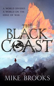 Cover of The Black Coast by Mike Brooks