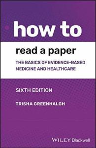 Cover of How to Read a Paper by Tricia Greenhalgh