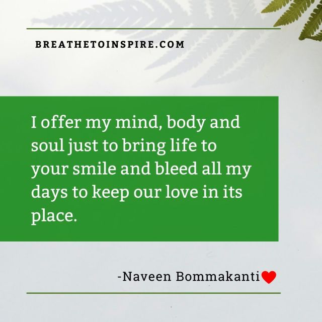 I offer my mind-love-quotes
