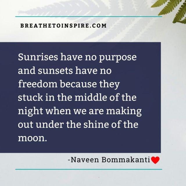 sunrises has no purpose-love-quotes