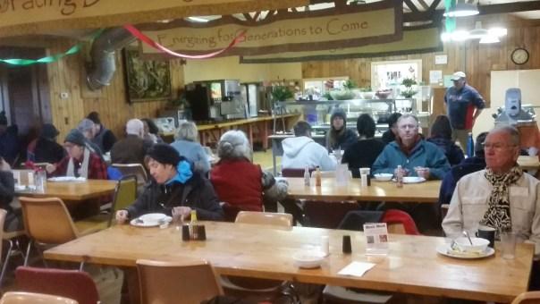 Dining Hall, Retreat 2016