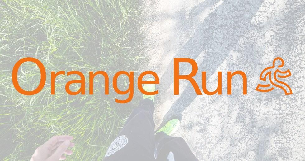 Orange Run Logo 2016 Header Image