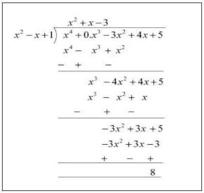 polynomials exercise 2 3