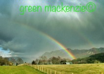 Rainbows - over Plockton Craggs