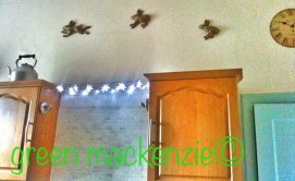 Flying Moon Hares - in my kitchen
