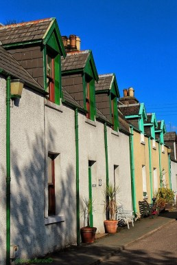 Green, Turquoise and Blue - Plockton