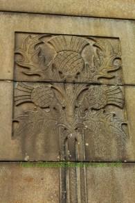 Detail of War Memorial