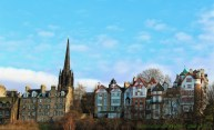 Edinburgh Old Town from Princes Street