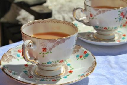 Tea in bonechina cup