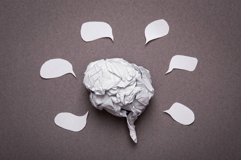 Medical-background-crumpled-paper-brain-shape