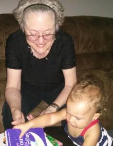 Lelia and Granddaughter Adia