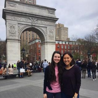 The usual pic at Washington Square