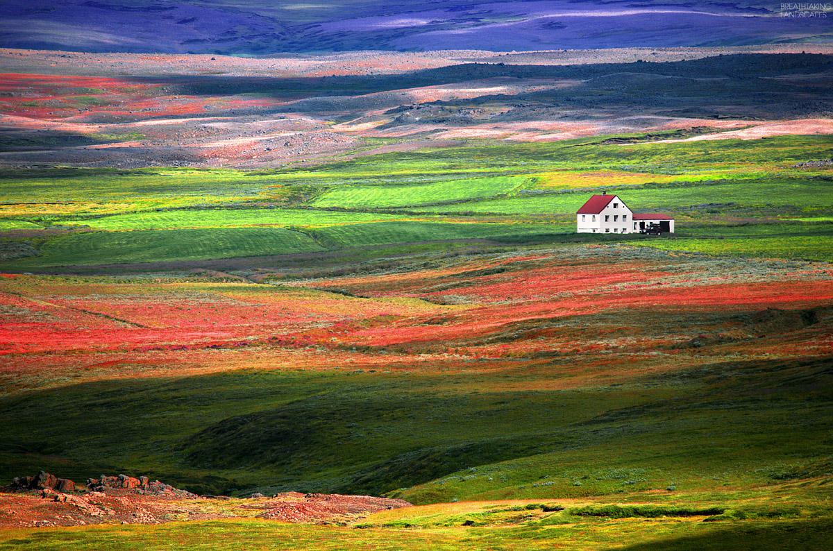 valley breathtaking landscapes