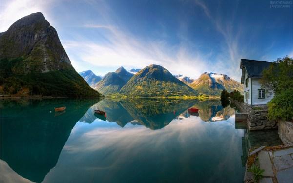 norwegian landscape breathtaking