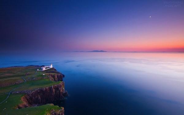 sunset breathtaking landscapes