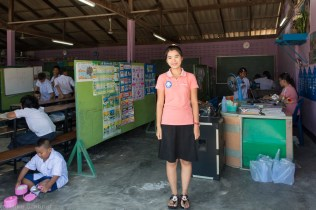 Angel, a teacher in a Burmese Learning Centre, Ranong
