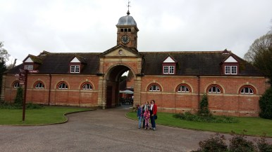 Kingston Lacey with Karen, Scarlet and Astrid Martin