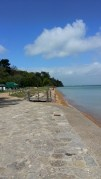 Queen Victoria's private beach, sheltered and lovely.