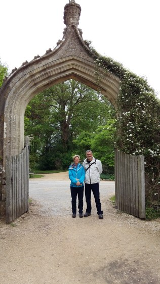 Tamsin and Mike at Lacock Abbey