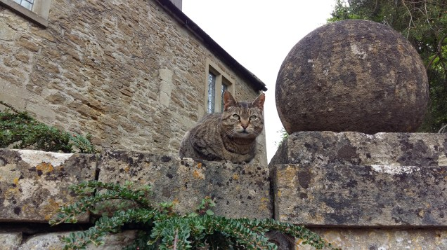 Gate keeper at Lacock Abbey