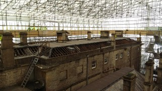 The roof at Dyrham Park