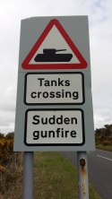 An army base and tank museum is near by !