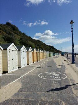 Beach huts at Bournemouth