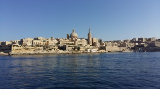 The view of Valetta from Sliema