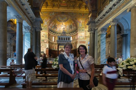 June and Susan in Sana Maria