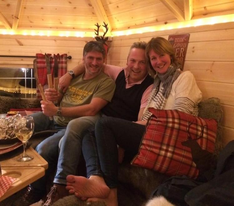 Jules Hudson in the BBQ Hut