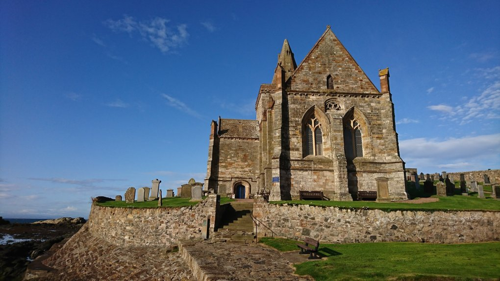 St Monan's church, which I passed on a 17 mile long run during a weekend break